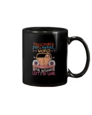 Freedom Is Just Another World Mug thumbnail
