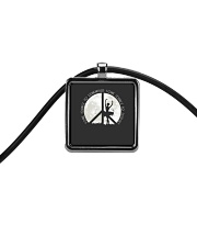 Some Dance To Remember Cord Rectangle Necklace tile