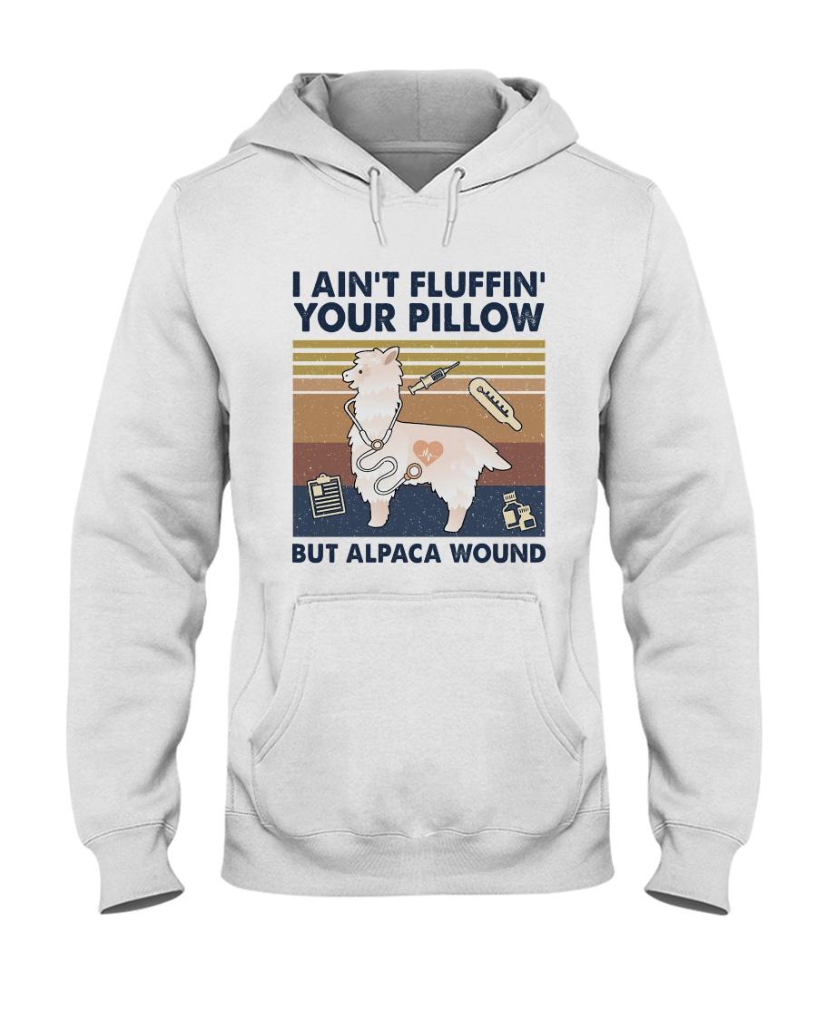 But Alpaca Wound Hooded Sweatshirt