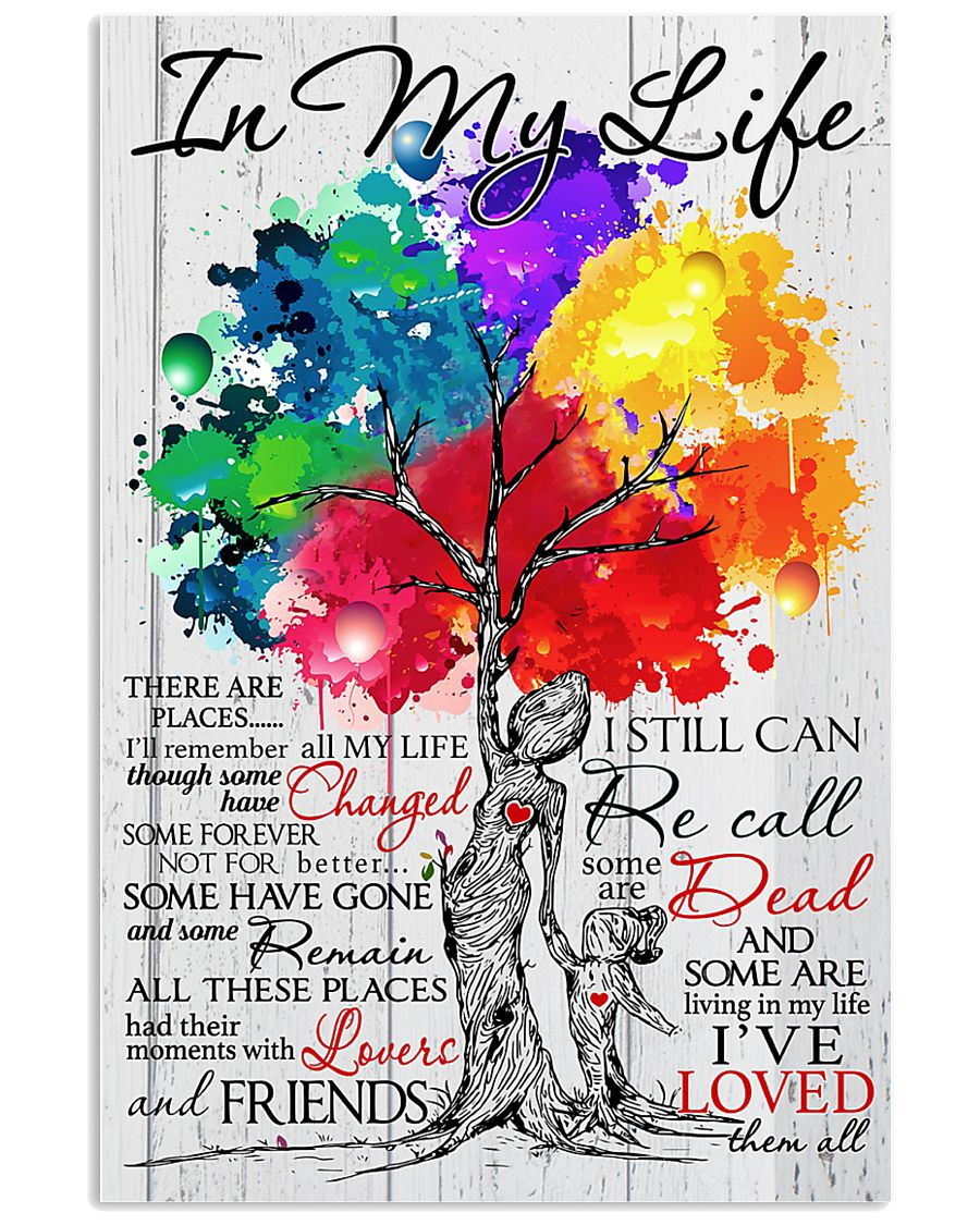 In My Life 11x17 Poster