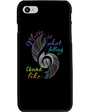 Music Is What Feeling Sound Like Phone Case thumbnail