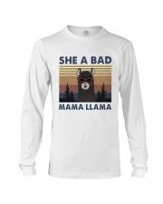 She A Bad Mama Llama Long Sleeve Tee thumbnail