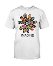 Imagine Flowers Classic T-Shirt front