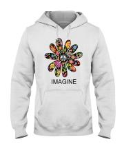 Imagine Flowers Hooded Sweatshirt thumbnail