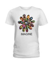 Imagine Flowers Ladies T-Shirt thumbnail