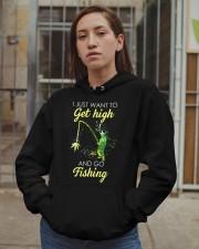I Just Want To Get High Hooded Sweatshirt apparel-hooded-sweatshirt-lifestyle-08