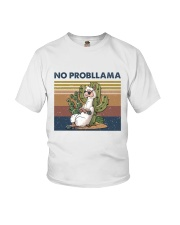 No Probllama Youth T-Shirt tile