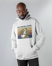 No Probllama Hooded Sweatshirt apparel-hooded-sweatshirt-lifestyle-front-09