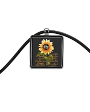 You Are My Sunshine Cord Rectangle Necklace thumbnail