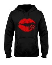 Love Cannabis Hooded Sweatshirt front