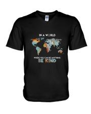 Be Kind 2 V-Neck T-Shirt thumbnail