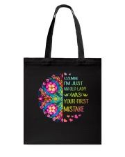 Your First Mistake Tote Bag thumbnail