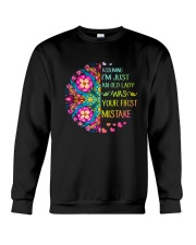 Your First Mistake Crewneck Sweatshirt thumbnail