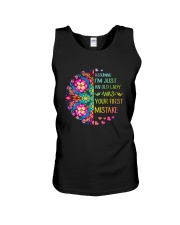 Your First Mistake Unisex Tank thumbnail