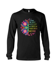 Your First Mistake Long Sleeve Tee thumbnail