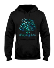 Music Makes Everything Better Hooded Sweatshirt thumbnail