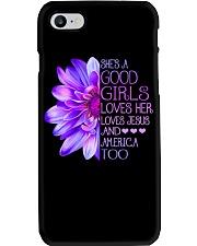 She Is A Good Girl Phone Case thumbnail