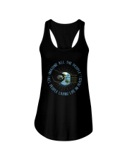People Living Life In Peace Ladies Flowy Tank thumbnail