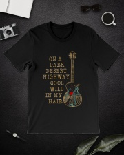 On A Dark Desert Highway Classic T-Shirt lifestyle-mens-crewneck-front-16