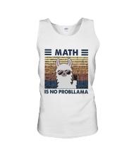 Math Is No Probllama Unisex Tank thumbnail