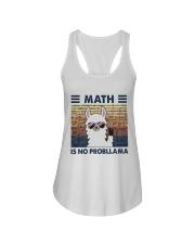 Math Is No Probllama Ladies Flowy Tank thumbnail