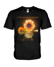 There Will Be An Answer V-Neck T-Shirt thumbnail