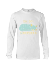 To Do Nothing Long Sleeve Tee thumbnail