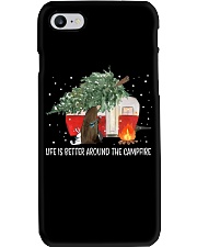 Life Is Better Around The Campfire Phone Case thumbnail