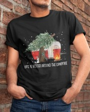 Life Is Better Around The Campfire Classic T-Shirt apparel-classic-tshirt-lifestyle-26