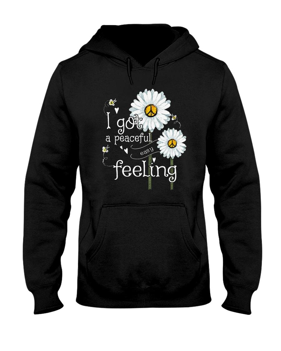 Peaceful Easy Feeling 3 Hooded Sweatshirt