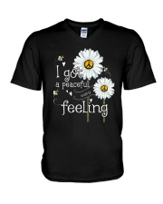 Peaceful Easy Feeling 3 V-Neck T-Shirt thumbnail