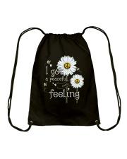 Peaceful Easy Feeling 3 Drawstring Bag thumbnail