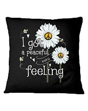 Peaceful Easy Feeling 3 Square Pillowcase thumbnail