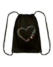 Love Camping Drawstring Bag thumbnail