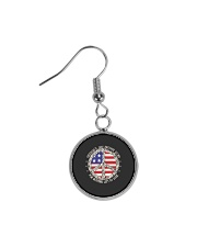 Freedom Is Just Another World Circle Earrings thumbnail