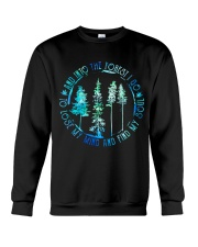 And Into The Forest I Go Crewneck Sweatshirt thumbnail