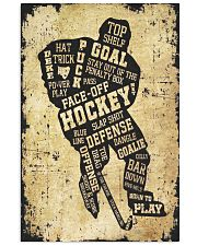 Face Off Hockey 11x17 Poster front