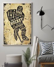 Face Off Hockey 11x17 Poster lifestyle-poster-1