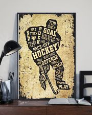 Face Off Hockey 11x17 Poster lifestyle-poster-2