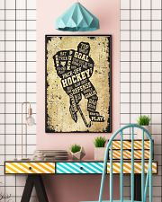 Face Off Hockey 11x17 Poster lifestyle-poster-6