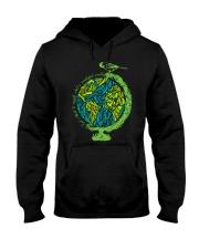 Myself What A Wonderful World 3 Hooded Sweatshirt front