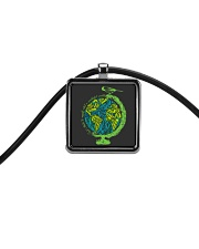 Myself What A Wonderful World 3 Cord Rectangle Necklace thumbnail