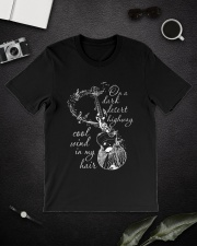 On A Dark Desert Highway Classic T-Shirt lifestyle-mens-crewneck-front-16