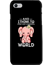 Myself What A Wonderful World 1 Phone Case thumbnail