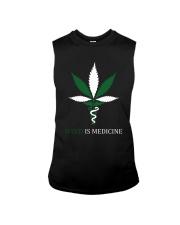 Weed Is Medicine Sleeveless Tee thumbnail