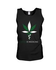 Weed Is Medicine Unisex Tank thumbnail