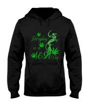 Everyday Is A Sesh Day Hooded Sweatshirt front
