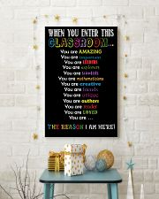 When You Enter This Classroom 11x17 Poster lifestyle-holiday-poster-3