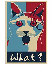 Cat Says What 11x17 Poster front