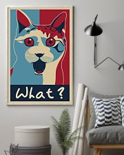 Cat Says What 11x17 Poster lifestyle-poster-1